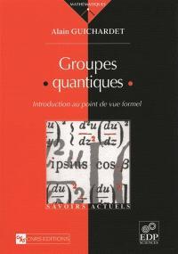 Groupes quantiques : introduction au point de vue formel