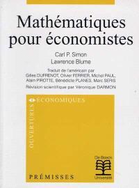 Mathématiques pour économistes
