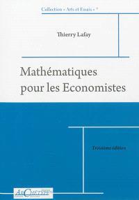 Mathématiques pour les économistes : niveau L2 : 2012-2013