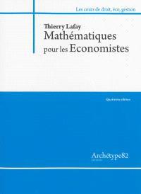 Mathématiques pour les économistes : niveau L2 : 2013-2014