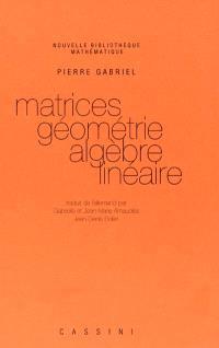 Matrices, géométrie, algèbre linéaire