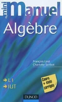 Mini-manuel d'algèbre : cours et exercices corrigés