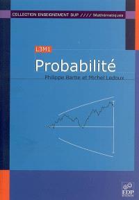Probabilité : L3M1