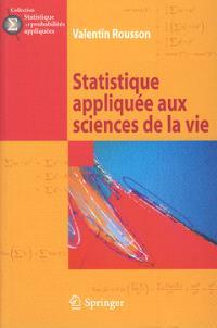 Statistique appliquée aux sciences de la vie