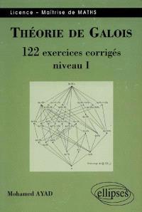 Théorie de Galois, niveau 1 : 122 exercices corrigés : licence, maîtrise de maths
