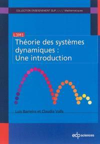 Théorie des systèmes dynamiques : une introduction : L3M1