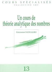 Un cours de théorie analytique des nombres