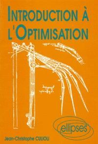 Introduction à l'optimisation