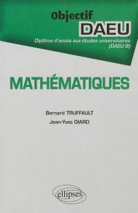Mathématiques : DAEU B