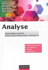 Analyse : apprendre à partir d'une base d'exercices : niveau L1