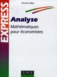 Analyse : mathématiques pour économistes