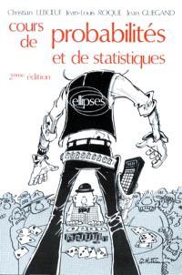 Cours de probabilités et de statistiques