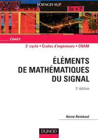 Eléments de mathématiques du signal
