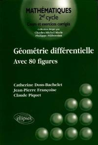 Géométrie différentielle : avec 80 figures