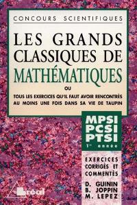 Mathématiques : MPSI, PCSI, PTSI, 1re année