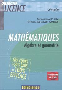 Mathématiques, algèbre et géométrie : 3e année