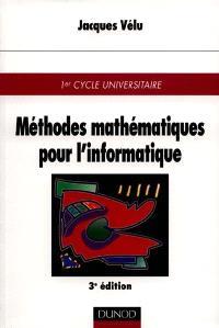Méthodes mathématiques pour l'informatique