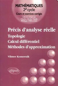Précis d'analyse réelle. Volume 1, Topologie, calcul différentiel, méthodes d'approximation