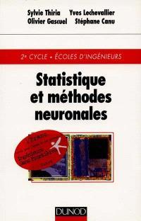 Statistiques et méthodes neuronales : 2e cycle, Ecoles d'ingénieurs