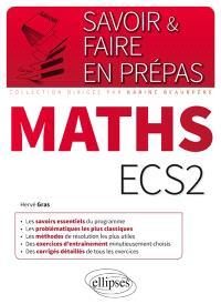 Mathématique ECS2