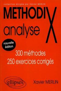 Analyse : 300 méthodes, 250 exercices corrigés
