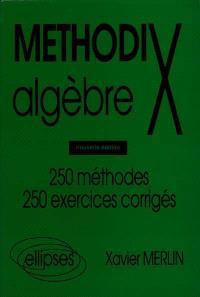 Algèbre : 250 méthodes, 250 exercices corrigés