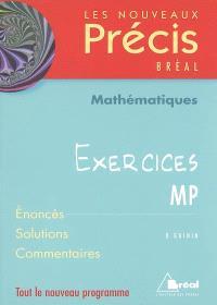 Mathématiques : exercices MP