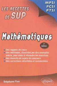 Mathématiques : MPSI, PCSI, PTSI