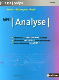 Analyse MPSI