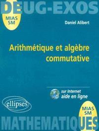 Arithmétique et algèbre commutative