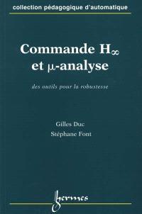 Commande H (symbole infini) et µ-analyse : des outils pour la robustesse