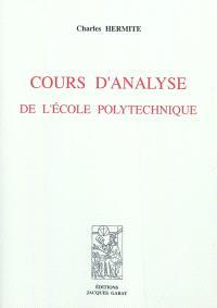 Cours d'analyse de l'Ecole polytechnique
