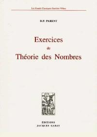 Exercices de théorie des nombres