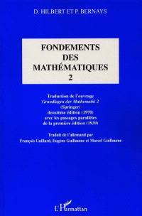 Fondements des mathématiques. Volume 2