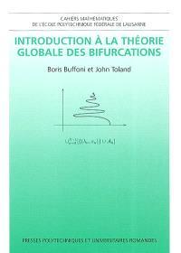 Introduction à la théorie globale des bifurcations