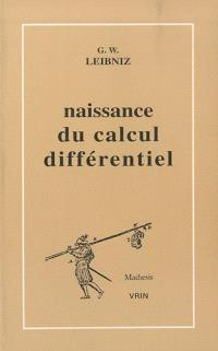 La Naissance du calcul différentiel : 26 articles des Acta Eruditorum