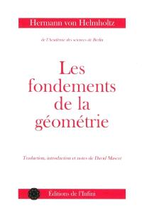 Les fondements de la géométrie