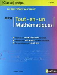 Mathématique MPSI, 1re année : tout en un