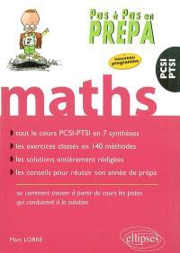 Mathématiques : PCSI-PTSI