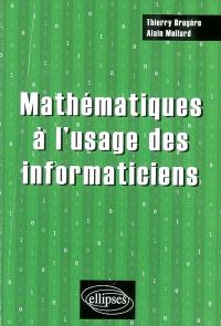 Mathématiques à l'usage des informaticiens