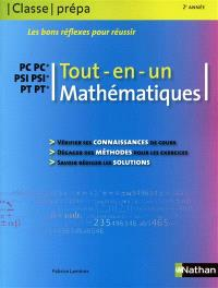 Mathématiques PC PSI PT, 2e année : tout en un
