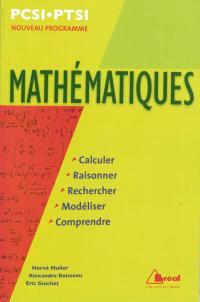Mathématiques PCSI-PTSI : nouveau programme