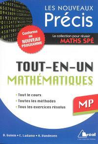 Mathématiques tout-en-un MP