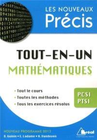 Mathématiques tout-en-un PCSI, PTSI