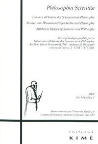 Philosophia scientiae. n° 13-2, Actes de la 17e Novembertagung d'histoire des mathématiques : 3-5 novembre 2006, University of Edinburgh, Royaume-Uni