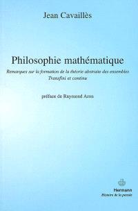 Philosophie mathématique