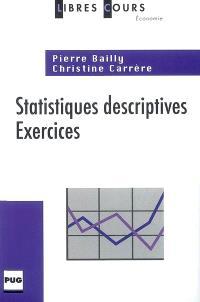 Statistiques descriptives : exercices