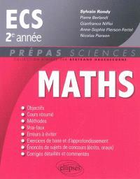 Mathématiques ECS : 2e année