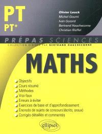 Mathématiques PT-PT*