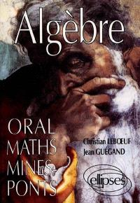 Algèbre : oral maths, Mines-Ponts